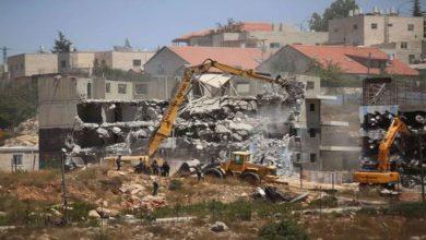 اسرائیلی نسل پرستانہ جبر، فلسطینیوں کی 27 املاک مسمار