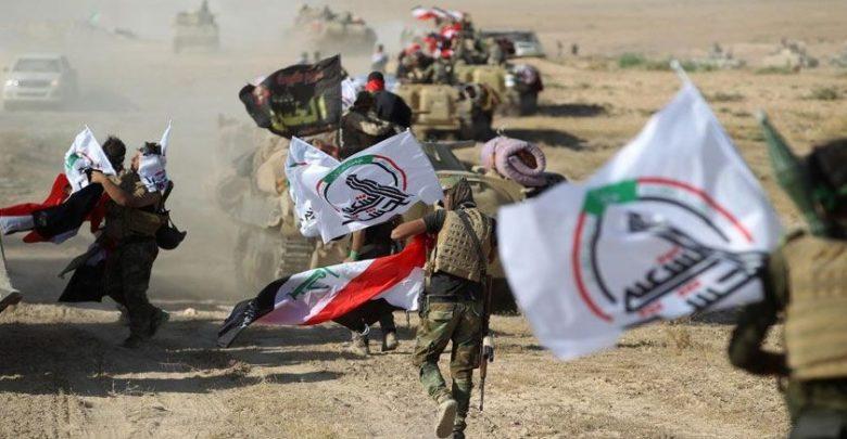 عراق میں الحشدالشعبی کا داعشی دہشت گردوں کا خفیہ ٹھکانہ تباہ