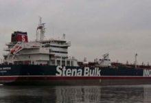 ایران نے آبنائے ہرمز میں برطانیہ کے ایک آئل ٹینکر کو پکڑ لیا