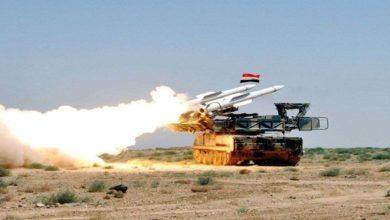 شامی ایئر ڈیفنس نے داعشی دہشت گردوں کے حملوں کو ناکام بنادیا