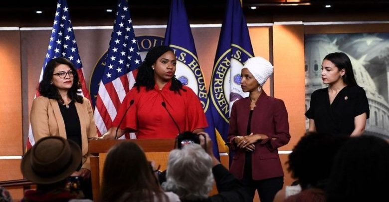 کانگریس خواتین ارکان نے ٹرمپ کے بیان کو 'توجہ ہٹاؤ' قرار دیا