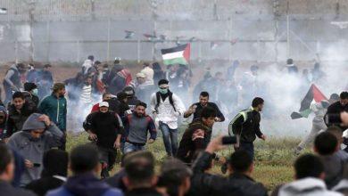 حق واپسی مارچ پر اسرائیلی فائرنگ، ایک فلسطینی شہید 56 زخمی
