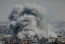 غزہ کی پٹی پر اسرائیلی جنگی طیاروں کے 4 فضائی حملے