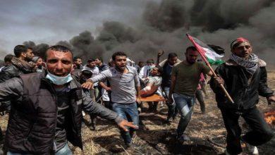 پُرامن مظاہرین پر اسرائیلی فائرنگ سے 122 فلسطینی زخمی