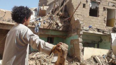 یمن کے رہائشی علاقوں پر سعودی امریکی طیاروں کی بمباری