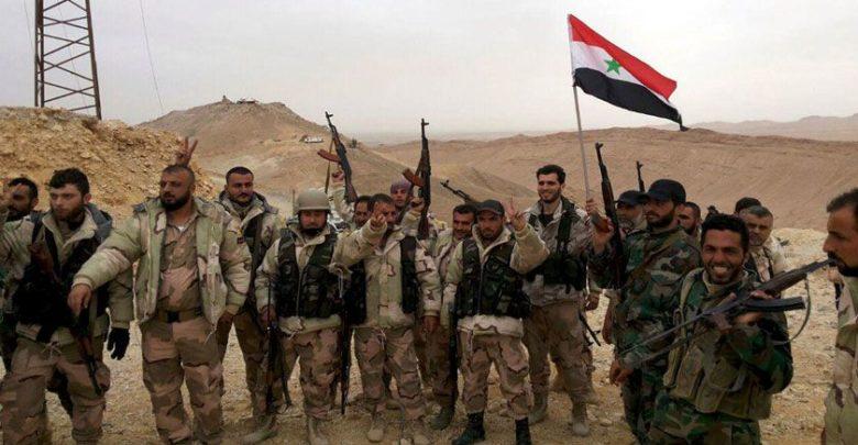 شامی فوج کی داعشی دہشت گردوں کے خلاف شاندار پیش قدمی