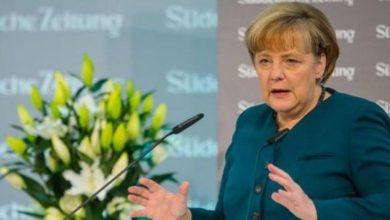 جرمن چانسلر نے بھی اسرائیلی وزیراعظم کا اعلان مسترد کردیا