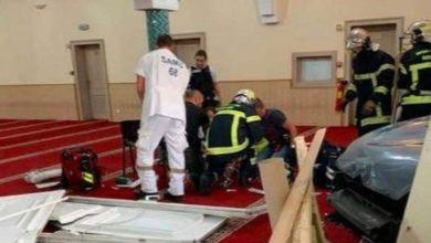 فرانس کے شہر کلمار میں ایک مسجد پر کار سے حملہ