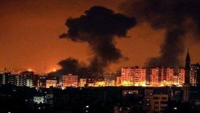 صیہونی جنگی طیاروں کی غزہ میں 7 مقامات پر بمباری