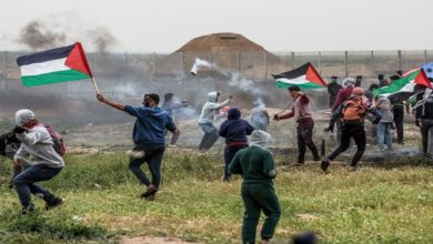 حق واپسی ریلیوں پر اسرائیلی فائرنگ سے 74 فلسطینی زخمی