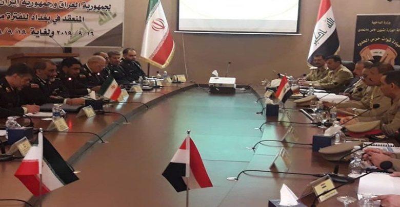 اربعین حسینی کیلئے ایران و عراق کی بارڈر سیکورٹی فورس کا اجلاس