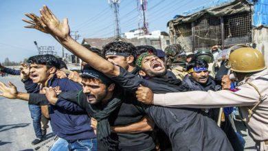 مقبوضہ کشمیر میں محرم کے جلوس پر مکمل پابندی اور بدترین تشدد