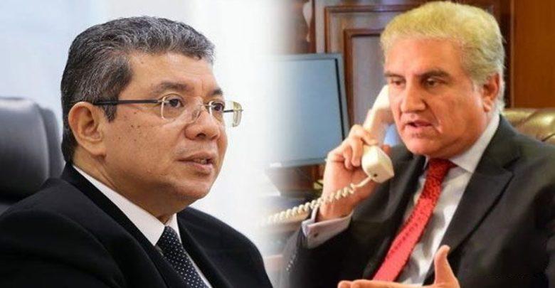 ملائیشیا کی مسئلہ کشمیر پر پاکستان کو تعاون کی یقین دہانی