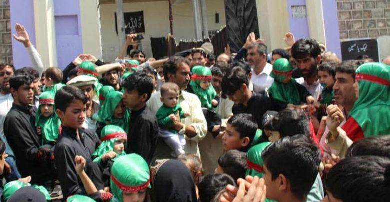 پاراچنار میں یوم علی اصغر (ع) کا انعقاد
