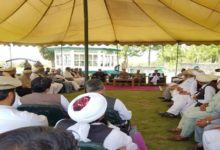 پارا چنار میں پاک فوج کی سربراہی میں شیعہ سنی عمائدین کا جرگہ
