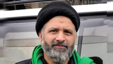 آغا علی رضوی کا گلگت بلتستان میں تین روزہ سوگ کا اعلان