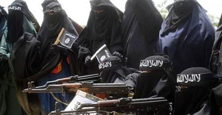 داعشی خواتین '' ٹائم بم'' کی حیثیت رکھتی ہیں