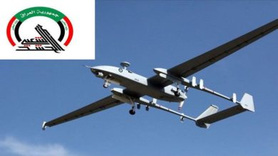 عراقی رضاکار فورس حشد الشعبی نے ڈرون طیارہ مار گرایا