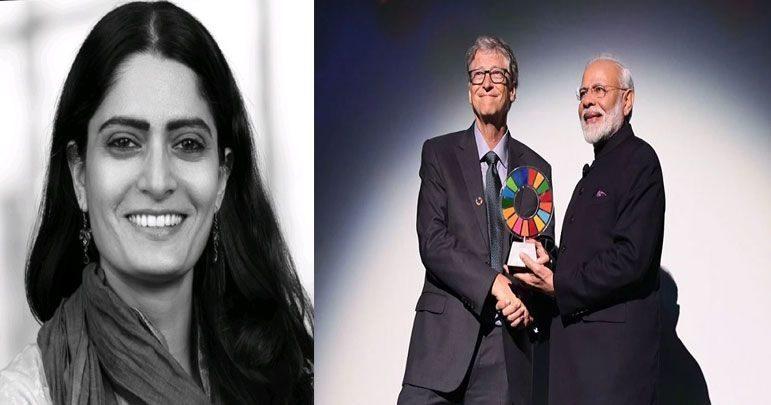 نریندر مودی کو ایوارڈ دینے پر بل گیٹس فاؤنڈیشن کی رکن مستعفی