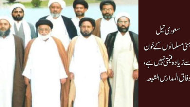 سعودی تیل یمنی مسلمانوں کے خون سے زیادہ قیمتی نہیں ہے