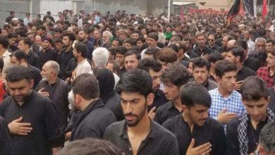 گلگت، جلوس عزا میں شیعہ سنی اتحاد کا عملی مظاہرہ