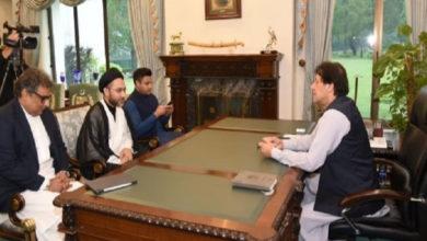 علامہ شہنشاہ نقوی کی عمران خان سے ملاقات، اہم مسائل پر گفتگو