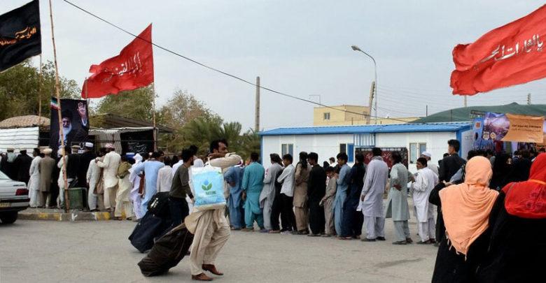 اربعین، ایک لاکھ پاکستانی زائرین زمینی راستے سے ایران میں داخل ہوئے