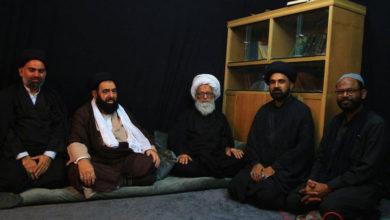 خادم کی حیثیت سے زائرین کی خدمت انجام دیتا رہوں گا، آیت اللہ حافظ بشیر نجفی