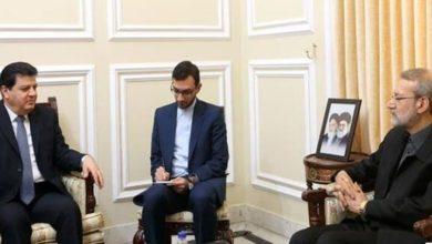 ایرانی اسپیکر کا شام میں استحکام اور سلامتی کے تحفظ پر زور