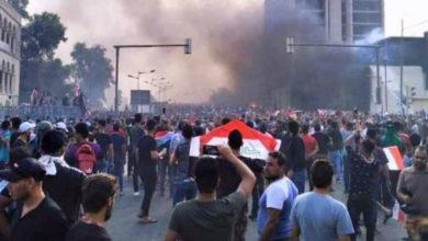 عراق میں حکومت مخالف مظاہروں میں امریکہ کا کردار