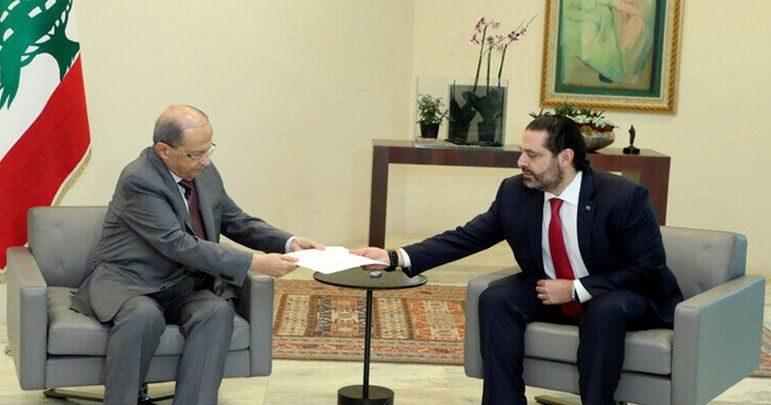 لبنانی صدر میشل عون نے وزیراعظم کا استعفی منظور کرلیا