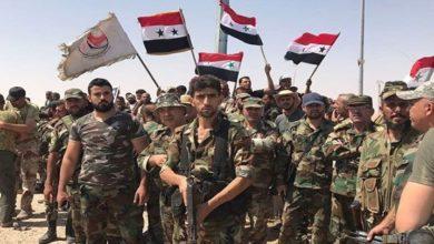 شامی فوج نے قصر یلدا اور مضافاتی علاقوں پر کنٹرول حاصل کر لیا