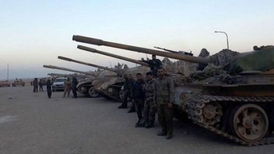 شامی فوج ام الکیف علاقے میں داخل، فوجی ساز و سامان منتقل
