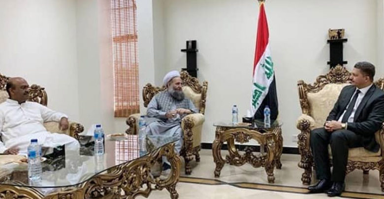 وزیر مذہبی امور اور ندیم افضل چن کی عراقی سفیر سے ملاقات
