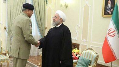 آرمی چیف جنرل قمر باجوہ کی ایرانی صدر حسن روحانی سے ملاقات