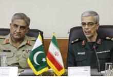 تہران، آرمی چیف جنرل قمر باجوہ کی ایرانی ہم منصب سے ملاقات