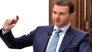 بشار اسد کا شام کی ارضی سالمیت کی ہر حال میں حفاظت کرنے پر زور
