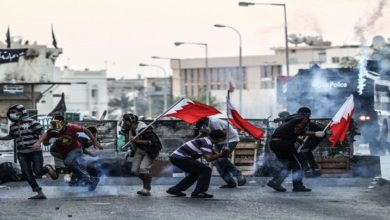 بحرینی شہریوں پر آل خلیفہ کے فوجیوں کے حملے، 5 شہری گرفتار