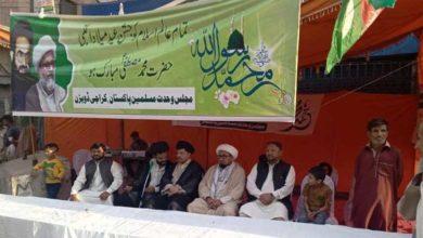کراچی، عید میلاد النبی پر ایم ڈبلیو ایم کے تحت سبیلوں کا اہتمام