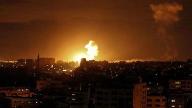 غزہ پر اسرائیلی جنگی طیاروں کا ایک بار پھر جارحانہ حملہ