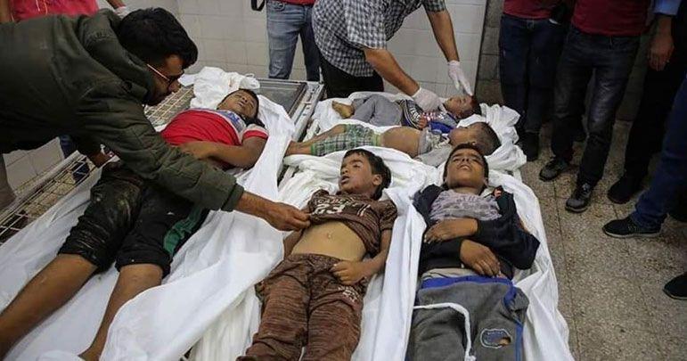غزہ: اسرائیلی فوج نے فلسطینی خاندان پر ڈیڑھ ٹن وزنی بم گرائے
