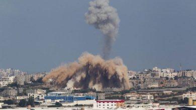 اسرائیلی فوج کا غزہ پر فضائی حملہ ، تین فلسطینی شہید