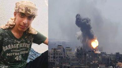 اسرائیلی فوج کی بمباری اور فائرنگ، غزہ میں ایک فلسطینی بچہ شہید