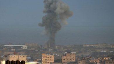 اسرائیلی لڑاکا طیاروں کا غزہ پر ایک اور فضائی حملہ