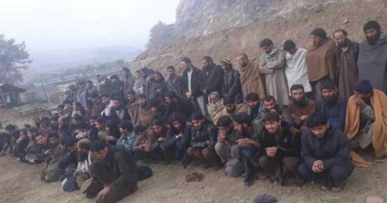 افغانستان، داعش میں شامل تیس پاکستانیوں نے ہتھیار ڈال دیئے