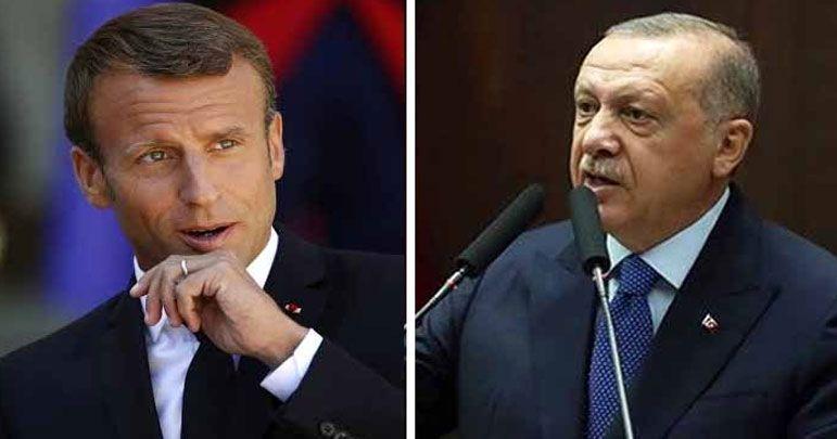 صدر طیب اردوغان نے فرانسیسی صدر کو مردہ دماغ قرار دیدیا