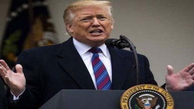 صدر ٹرمپ کا فلسطین میں صیہونی آباد کاری کی حمایت کا اعلان