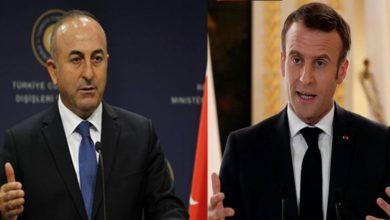 ترکی کا فرانسیسی صدر پر دہشت گرد تنظیم کی مدد کا الزام