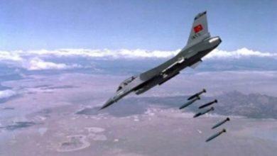 ترک جنگی طیاروں کی شام پر بمباری، کرد ملیشیا کے 7 افراد ہلاک