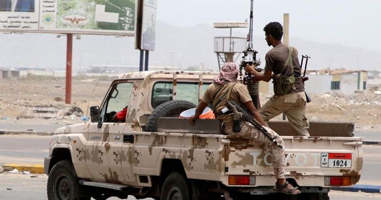 متحدہ عرب امارات کے حمایت یافتہ جنگجوؤں کے درمیان جھڑپیں